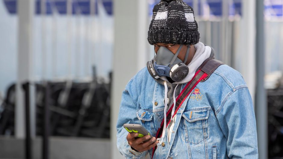 Goggles, Masks, Ponchos: Air Travel in the Days of the Coronavirus