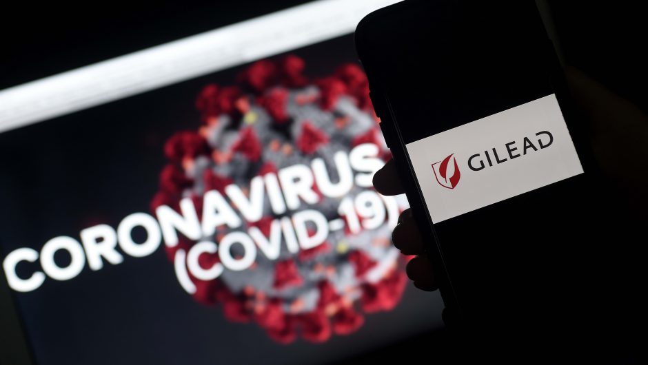 Dow surges 400 points as positive Gilead news lifts hope for coronavirus treatment