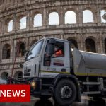 Coronavirus: Italy virus deaths rise but infections slow again  – BBC News