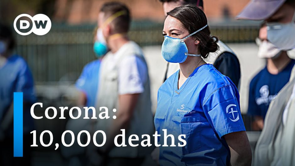 Coronavirus global death toll surpasses 10,000 +++ California on lockdown   DW News