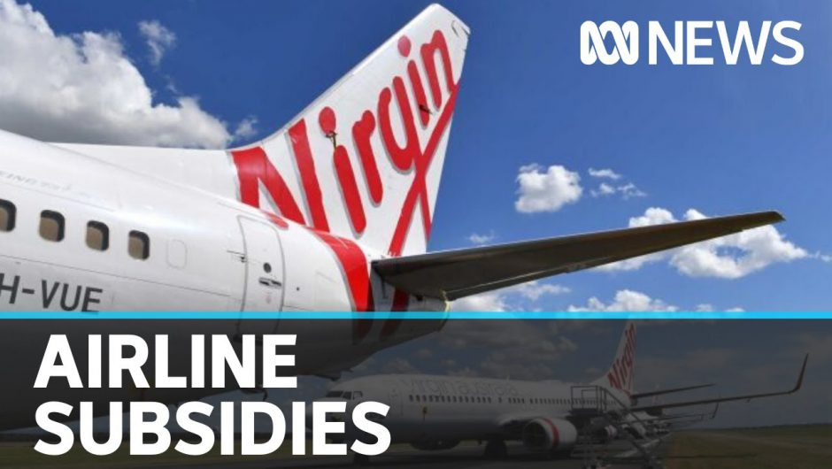 Coronavirus update 17 April: Australia's two major airlines receive government subsidy | ABC News