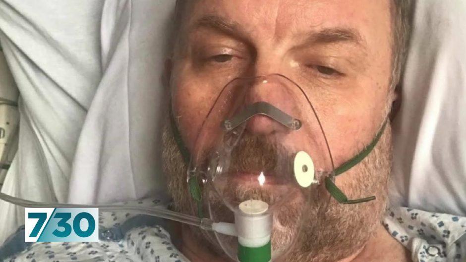 Coronavirus saw Paul Gauger put on ventilator in New York, unsure if he would ever wake | 7.30