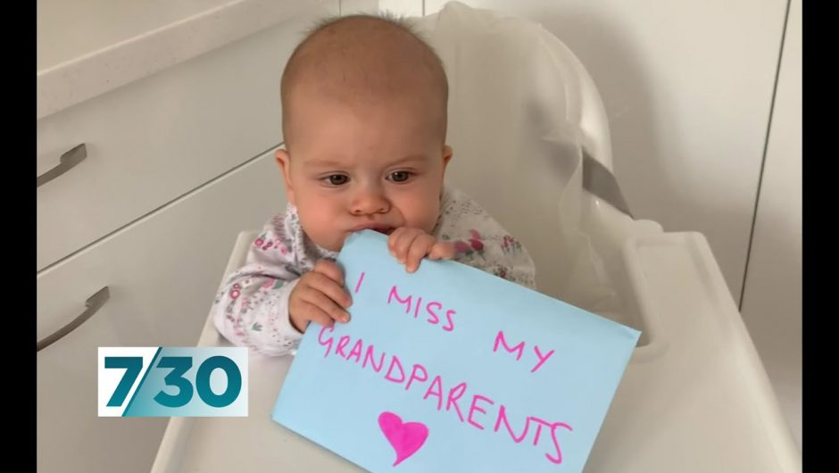 More grandchildren send messages to their isolated grandparents | 7.30