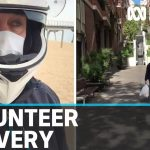 Australian living in Barcelona volunteers to deliver medicine to the vulnerable | ABC News