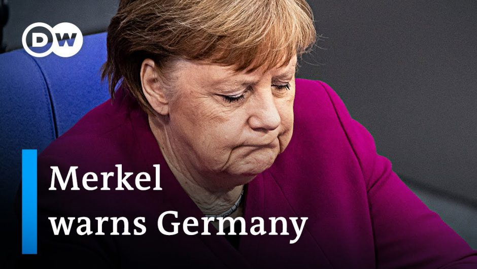 'The hardest decisions of my career' – Angela Merkel addresses German Parliament | DW News