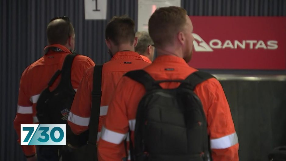 Workers worried they're putting themselves and their communities at risk | 7.30