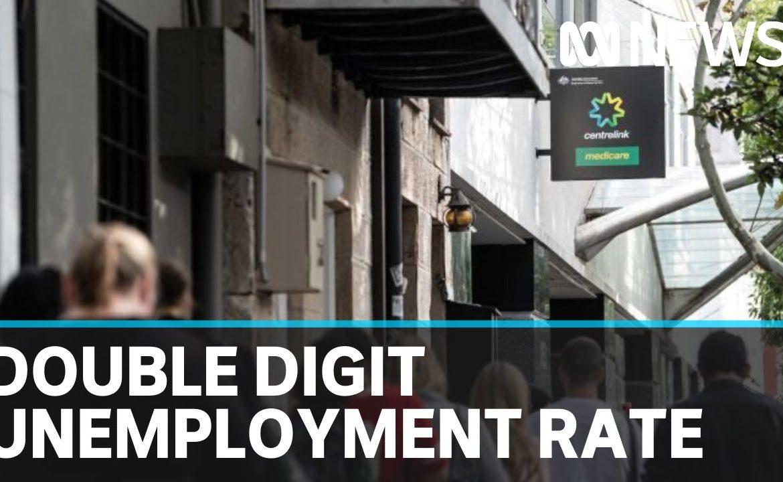 Coronavirus update 14 April: Treasury estimates double-digit unemployment rate | ABC News