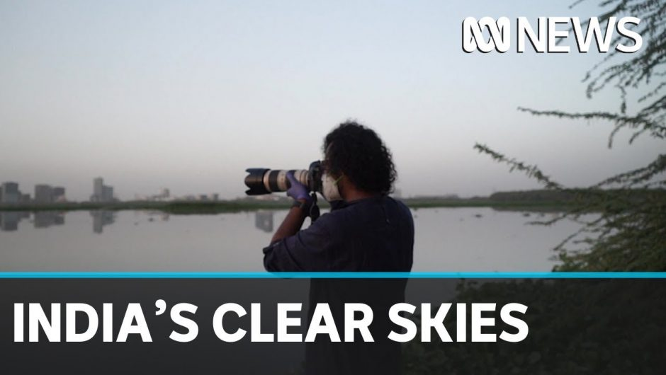 India's coronavirus lockdown gives world's most polluted capital clear, blue skies | ABC News