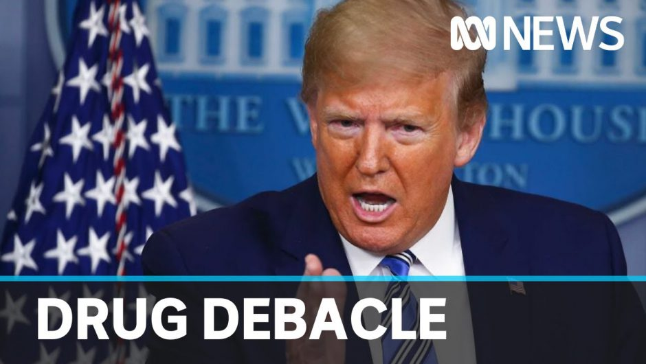Study suggests drug touted by Trump could increase death rate | ABC News
