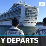 Ruby Princess begins journey out of Australian waters | ABC News