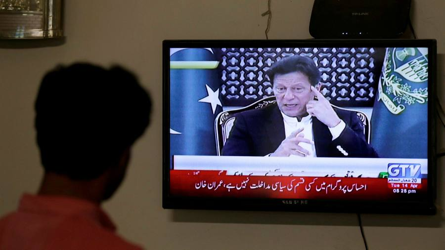 Pakistan's Imran Khan sidelined by military during coronavirus outbreak