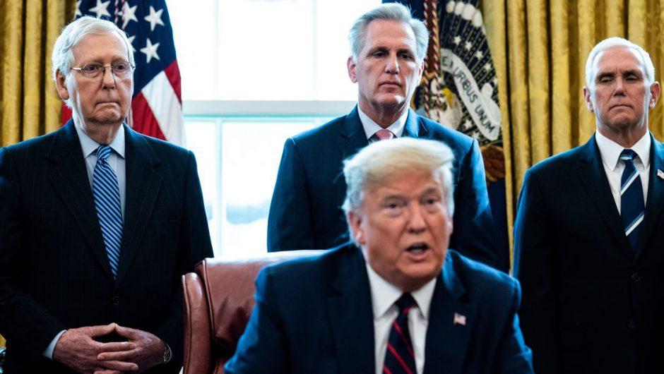Private Republican Coronavirus Memo: 'Don't Defend Trump'