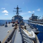 U.S. warship heads to port after coronavirus outbreak