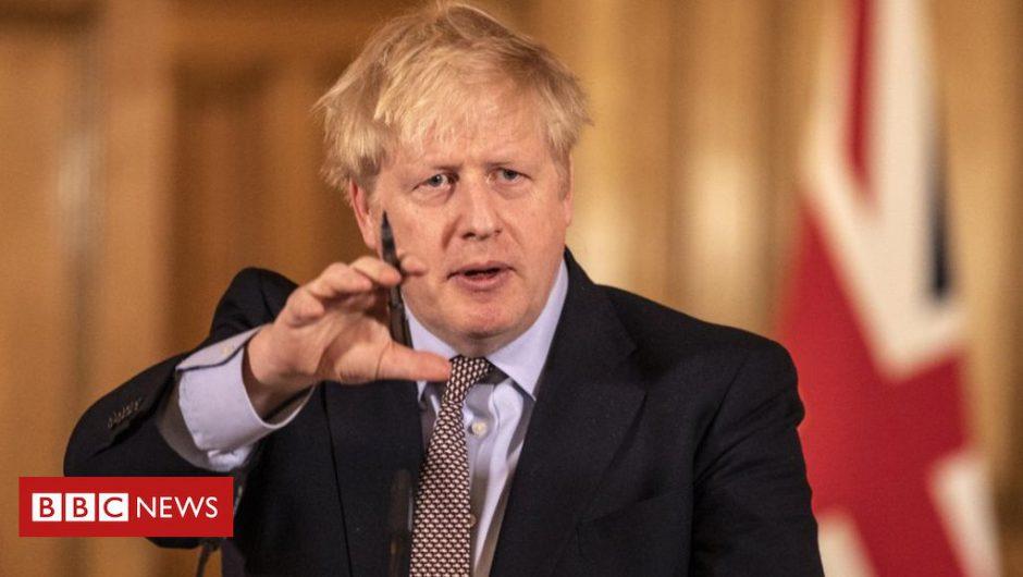 Coronavirus: Boris Johnson back at Downing Street to lead response