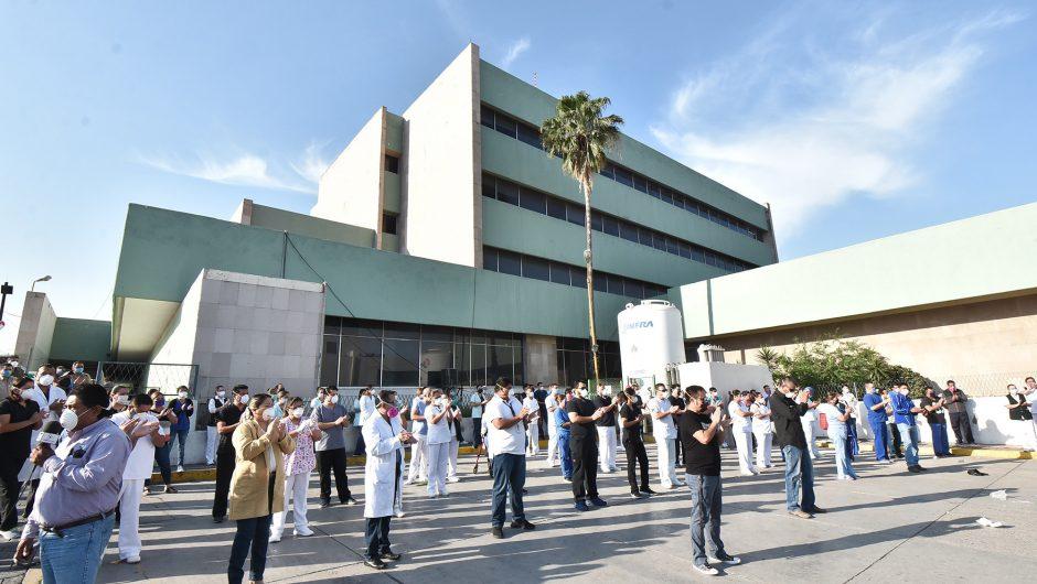 Nurses at Mexico hospital hit by coronavirus were told to avoid masks