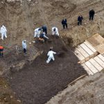 Plan to dig mass graves in UK to hold coffins of hundreds of coronavirus victims
