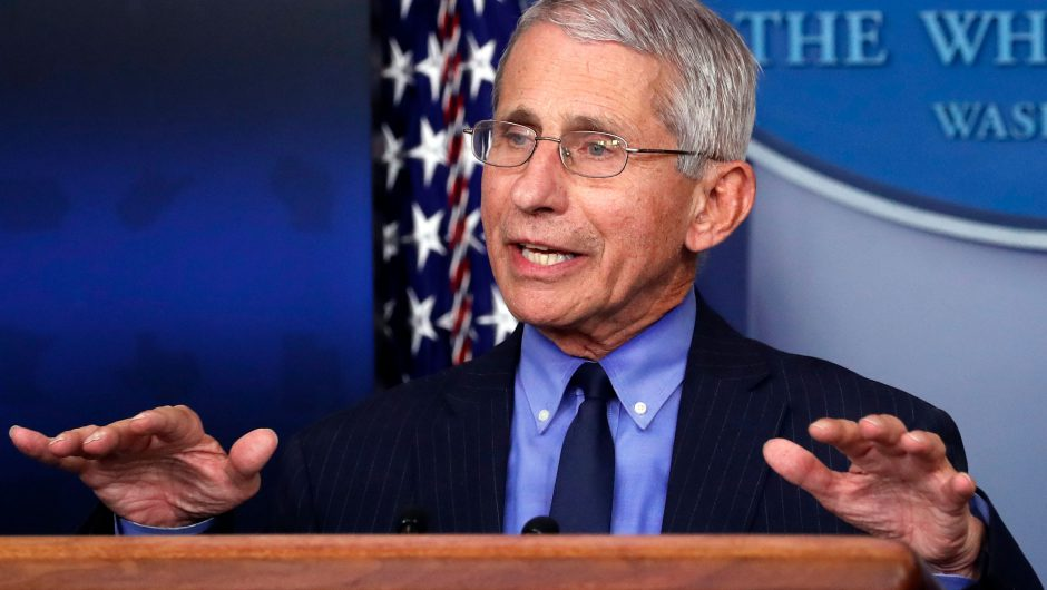 Fauci confident U.S. could have coronavirus vaccine by December