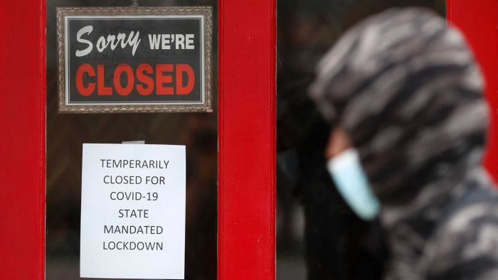 US unemployment at historic levels, with 20.5 million jobs lost in April due to coronavirus