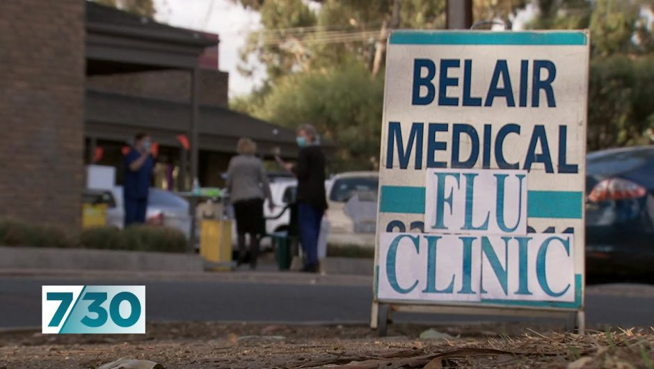 Health authorities urging people to get their flu shot early | 7.30