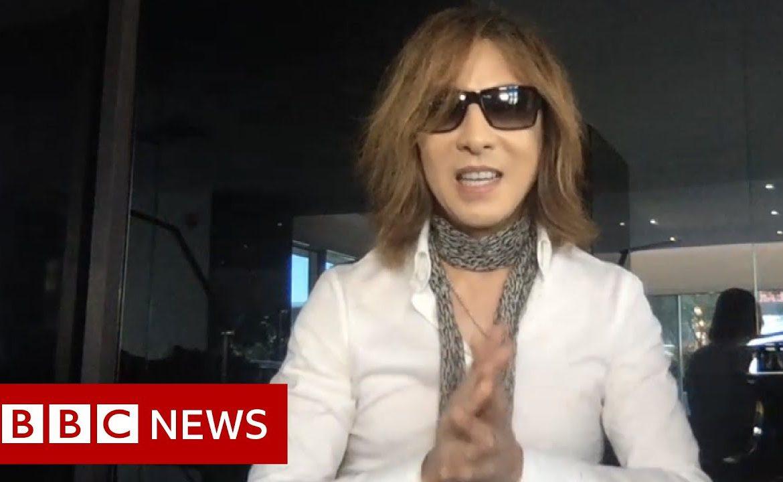Coronavirus: The Japanese musician Yoshiki on #SING4LIFE - BBC News