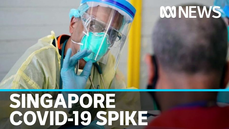 Singapore sees a spike in COVID-19 cases after thinking it was under control | ABC News