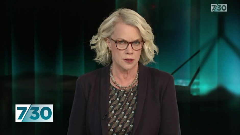 Laura Tingle looks at the politics of Virgin Australia's troubles | 7.30