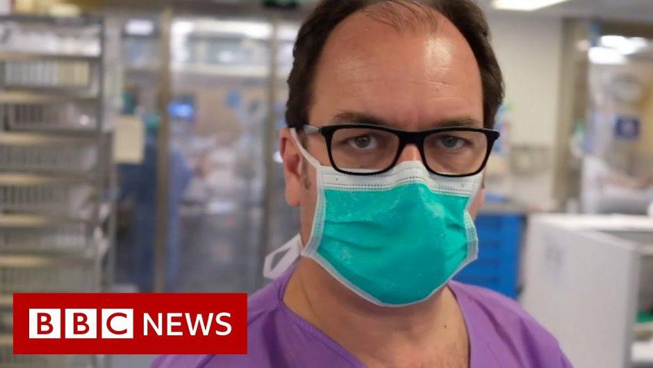The staff battling coronavirus in a Barcelona ICU – BBC News