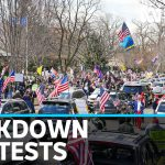 Protesters rally across the US demanding end to coronavirus restrictions | ABC News