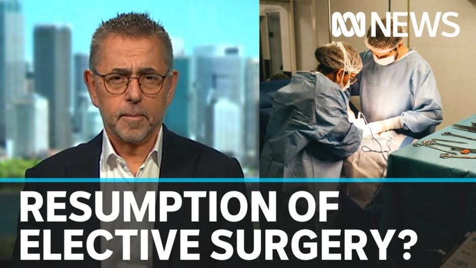 Dr Norman Swan: 'We've got to get back to a normalised healthcare system' | ABC News