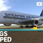 Four Airbus a380s go into storage in Alice Springs during coronavirus pandemic | ABC News