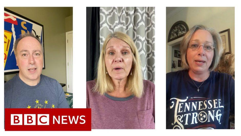Coronavirus: What Trump voters think of his handling of crisis – BBC News