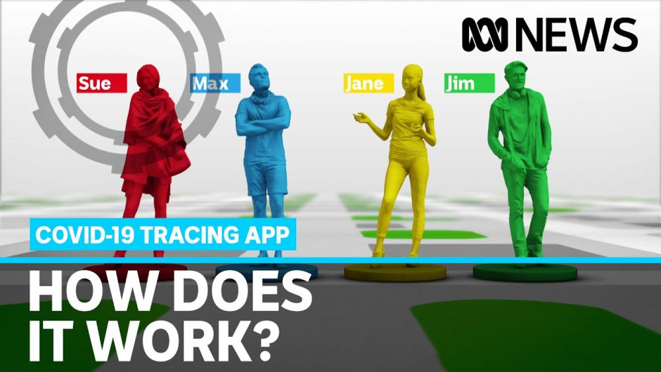 The Government's new coronavirus trace app launches today. How does it work? | ABC News