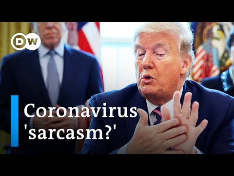 Will coronavirus disinfectant tip change Trump's press briefings? | DW News