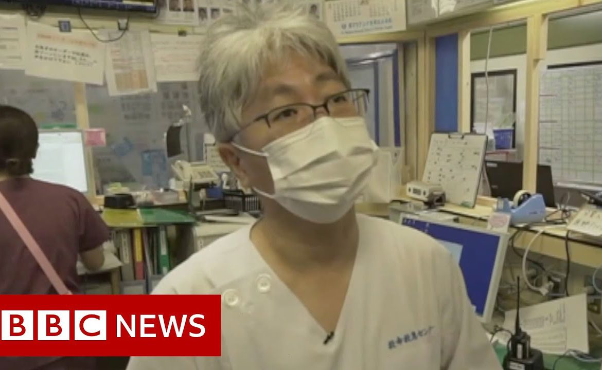 Coronavirus: Tokyo hospitals trying to stay ahead - BBC News