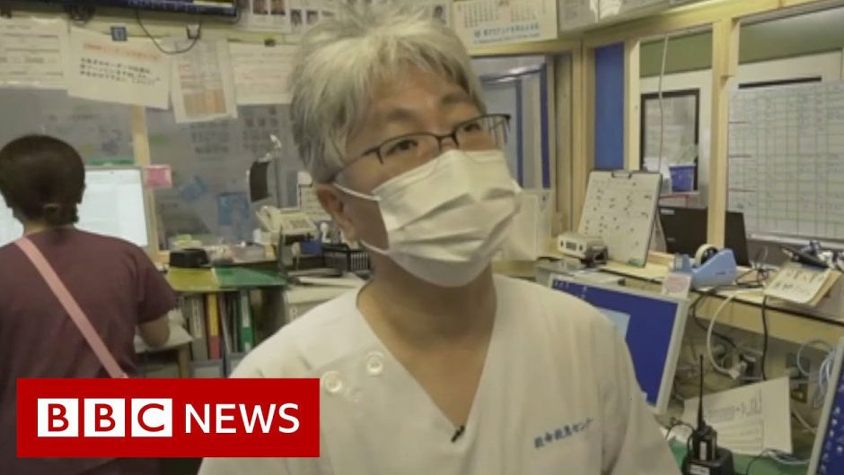 Coronavirus: Tokyo hospitals trying to stay ahead – BBC News