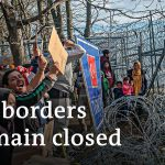 EU fortifies Greek border against refugee influx | DW News