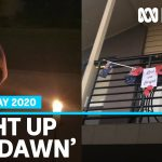 Anzac Day 2020: Australians find ways to commemorate Anzac Day from their own homes | ABC News