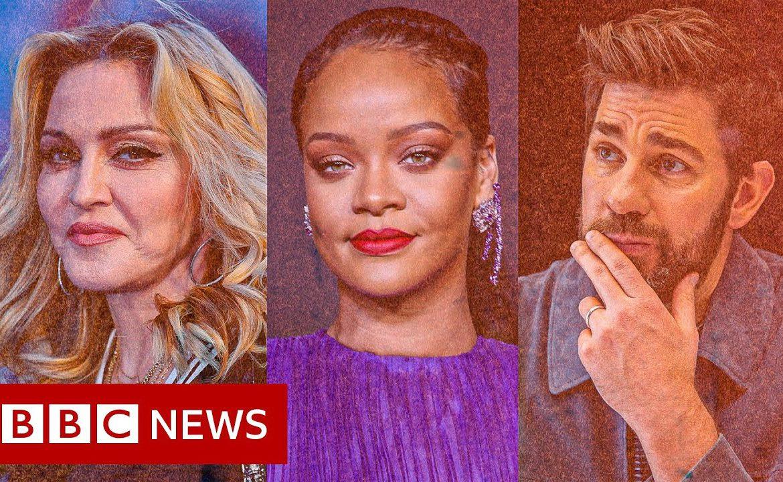 Do celebrities still matter in a crisis? - BBC News