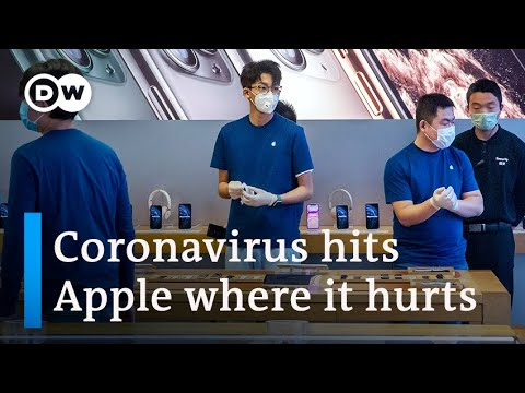 Apple warns that coronavirus is hurting profits | DW Business