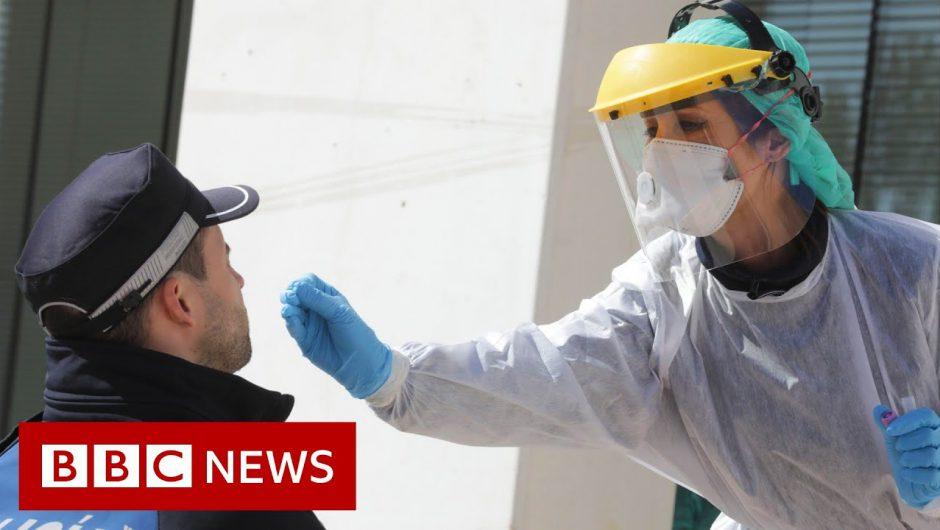 Coronavirus: A quarter of the world's population in lockdown – BBC News
