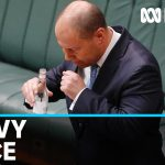 Josh Frydenberg tested for coronavirus after coughing fit that overshadowed key address | ABC News
