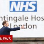 Coronavirus: UK hospital built in two weeks opens its doors – BBC News