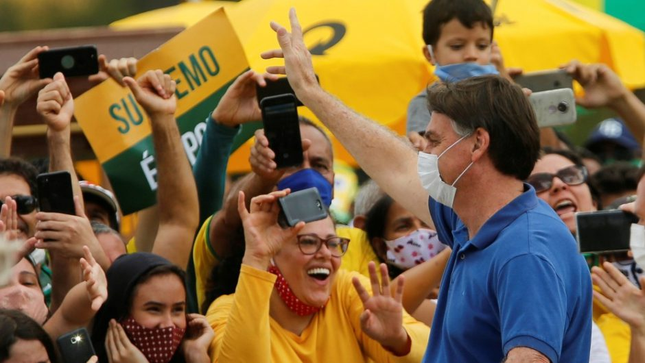 Selfie-snapping Bolsonaro defies coronavirus advice: Live updates | News