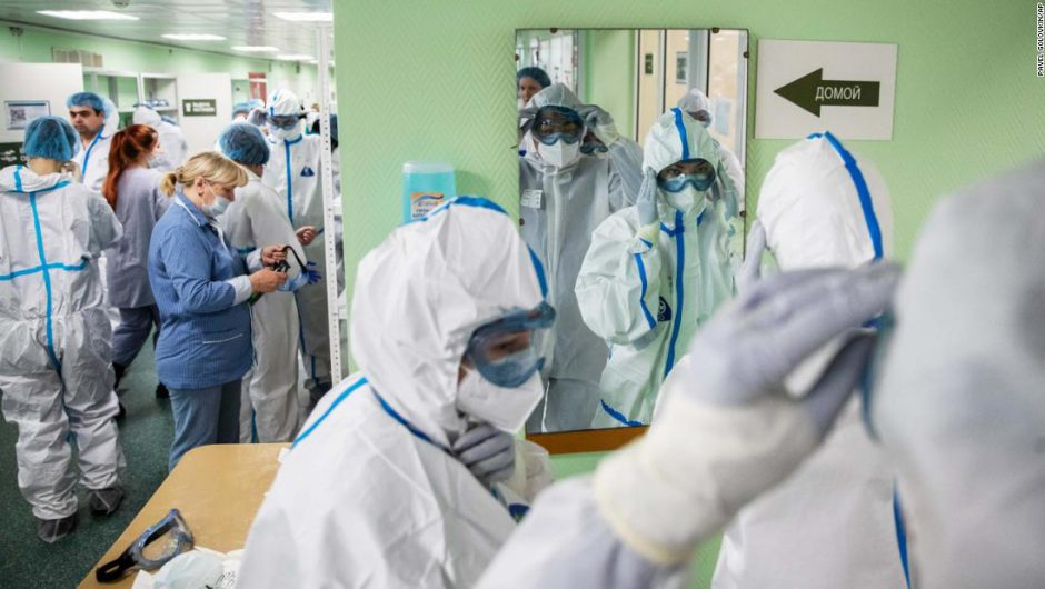 Russia is battling coronavirus across 11 time zones. But Moscow and the regions are worlds apart