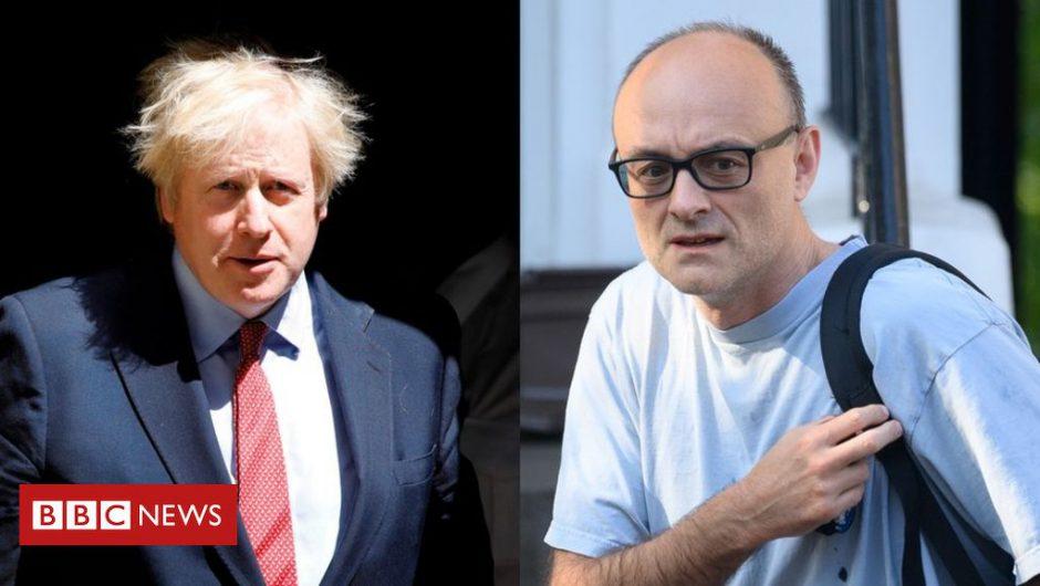 Coronavirus: Boris Johnson to face senior MPs amid Cummings row