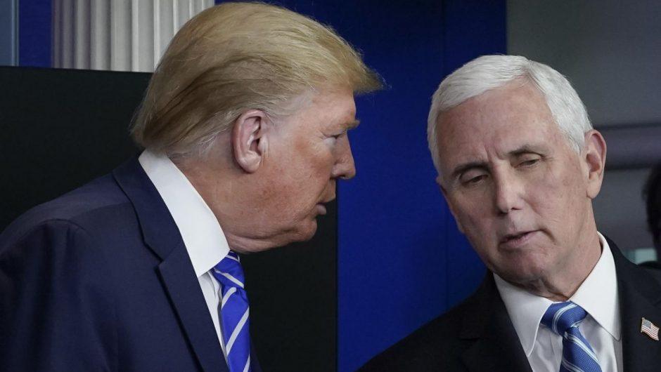 White House discusses winding down Coronavirus Task Force