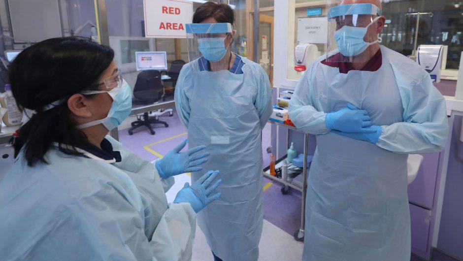 UK coronavirus hospital death toll rises by 56 reaching 32,892 as lockdown eased
