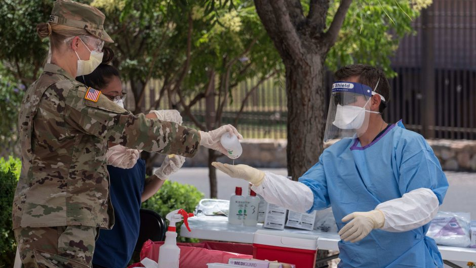 Coronavirus live updates: Texas continues hospitalization surge