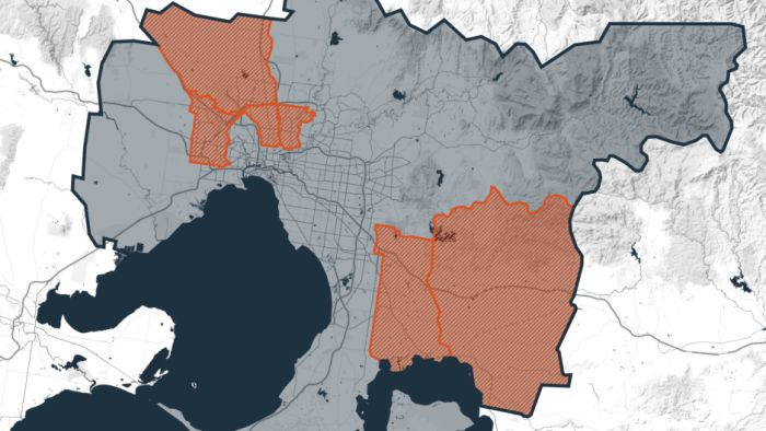 Where are Victoria's coronavirus hotspots and how are authorities dealing with them?
