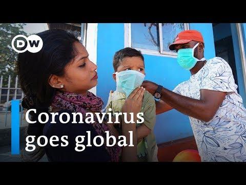 Coronavirus spreads to India and Philippines | DW News